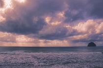 Fiery Clouds and Sea Waves by Tanya Kurushova