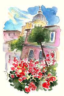 Red Roses from Catania von Miki de Goodaboom