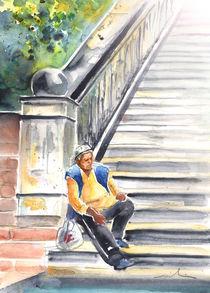 Old and Lonely in Prague 02 von Miki de Goodaboom