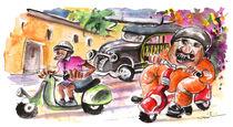 Sicilian Traffic 01 von Miki de Goodaboom