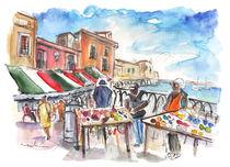 Street Merchants in Ortigia by Miki de Goodaboom