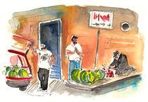 Street Merchants in Siracusa by Miki de Goodaboom