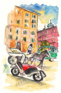 Traffic in Palermo von Miki de Goodaboom