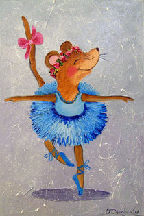 'Mouse in the dance' von Olha Darchuk