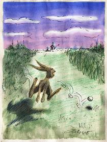 Golfbälle hüpfen, Hasen auch! by Mr. TSCHUWIE
