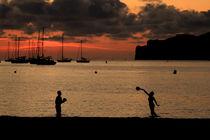 Traumhafter Sonnenuntergang auf Mallorca - Santa Ponca von wirmallorca