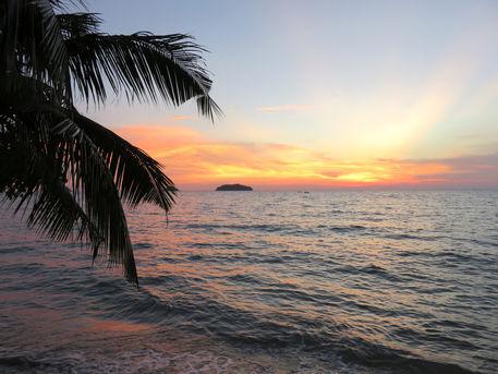 Thailand-sonnenuntergang