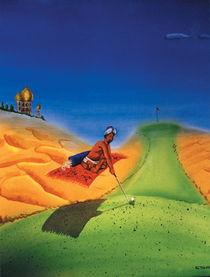 Flying Carpet Golfer von Mr. TSCHUWIE