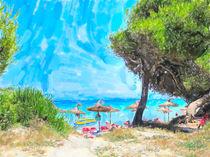 Pinienstrand von Alcudia auf Mallorca. von havelmomente