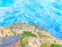Cap Formentor mit Leuchtturm auf Mallorca von havelmomente