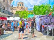 Wochenmarkt in Sineu Mallorca by havelmomente