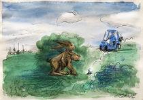 Hasen hinterm Busch by Mr. TSCHUWIE