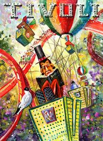 The Storysteller Of Tivoli Gardens von Miki de Goodaboom