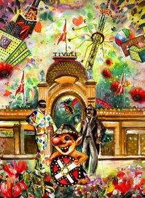 Welcome To Tivoli Gardens von Miki de Goodaboom