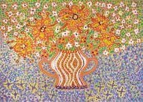 Sommertraum mit Blumen von Margareta Uliarte