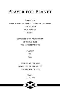 Prayer for Planet by nyah
