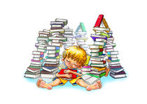 Der kleine Leser by Peter Holle