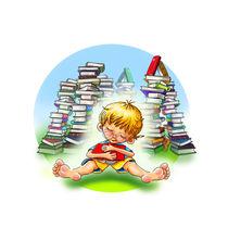 Der kleine Leser von Peter Holle