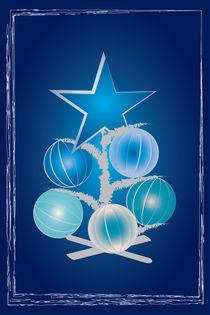 Blue Christmas tree by feiermar