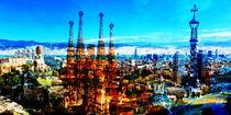 barcelona city view by jackandjill