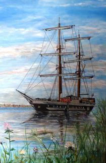Segelschiff von Elisabeth Maier