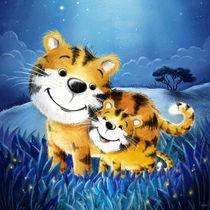süßer Tiger mit Baby by Stefan Lohr