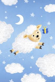 süßes Wolken-Schaf von Stefan Lohr