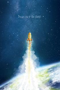 Weltraum Rakete von Stefan Lohr