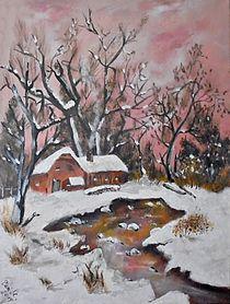 Winterstimmung by Vera Markgraf