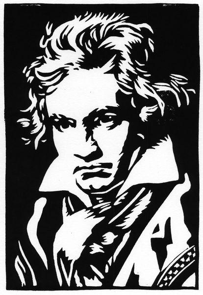 Ludwig-van-beethoven-linoldruck-print