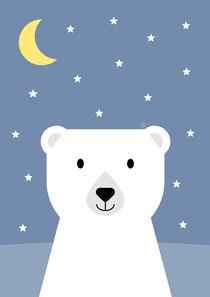 Süße Träume kleiner Eisbär von Carolin Vonhoff