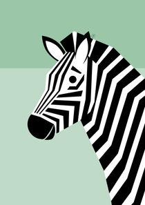 Zebra von Carolin Vonhoff