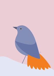 lila Vögelchen von Carolin Vonhoff