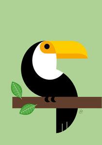 Tukan für deinen urban jungle von Carolin Vonhoff