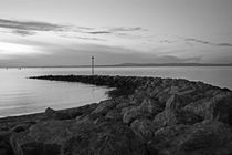 MORECAMBE. Breakwater on the Bay by Lachlan Main
