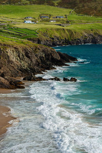 Irland - Dingle Halbinsel - juicy green & clear blue von meleah