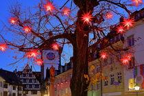 Weihnachtsbaum in Freiburg von Patrick Lohmüller