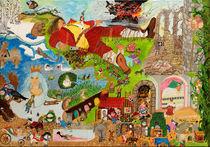 Die schönsten Märchen der Brüder Grimm und Hans Christian Andersen  von Künstler Ralf Hasse