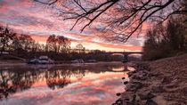 Grafenwerther Brücke von Jens Unglaube