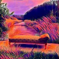 Sofa in der Au von Egon Plandor