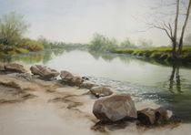 Morgen am Fluss von Helen Lundquist