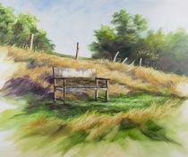 Gartenbank von Helen Lundquist