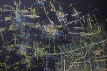 Shanghai aus dem Weltall gesehen  by Reiner Poser