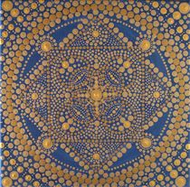 Golden Mandala von Martina Seider