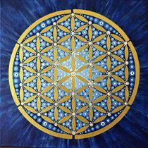 """Mandala mit der """"Blume des Lebens"""" von Martina Seider"""