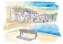 Unglaubliche Cefalu Sicily Waterfront von M.  Bleichner