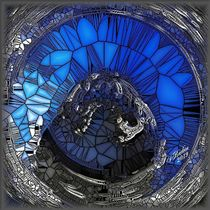 Harmonie in Blau-Grau... by Susanna Badau