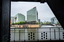 Hamburg - Spiegelverlags-Gebäude von gini-art