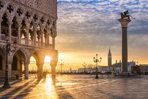 Sunrise in Venice by Michael Abid