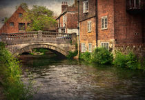 Winchester City Bridge and Mill von Ian Lewis
